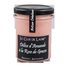 Délice d'amande à la rose de Grasse