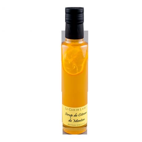Sirop de citron de Menton