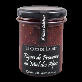 Confiture de figues de Provece au miel des Alpes