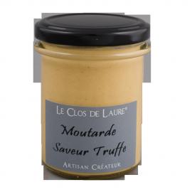 Moutarde saveur truffe