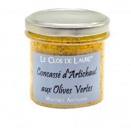 Concassé d'artichaut aux olives - 140g