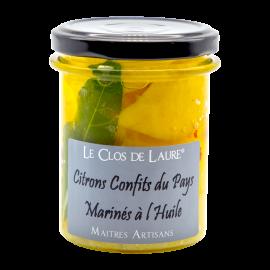 Citrons confits à l'huile
