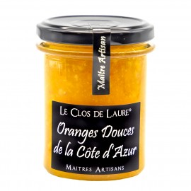 Confiture d'orange douce de la Côte d'Azur
