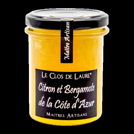 Confiture de citron et bergamote de la Côte d'Azur