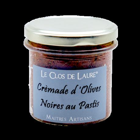 Crémade d'olives noires au pastis - 140 gr