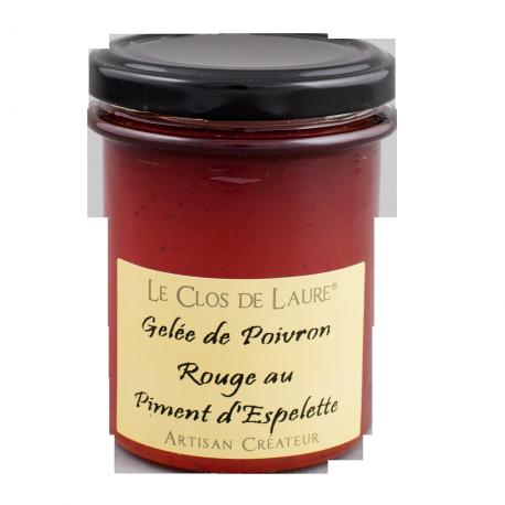 Gelée de poivron rouge au piment d'Espelette